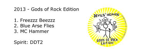 Disc Devils Twente - 2013 Gods of Rock Edition - Devils Heaven