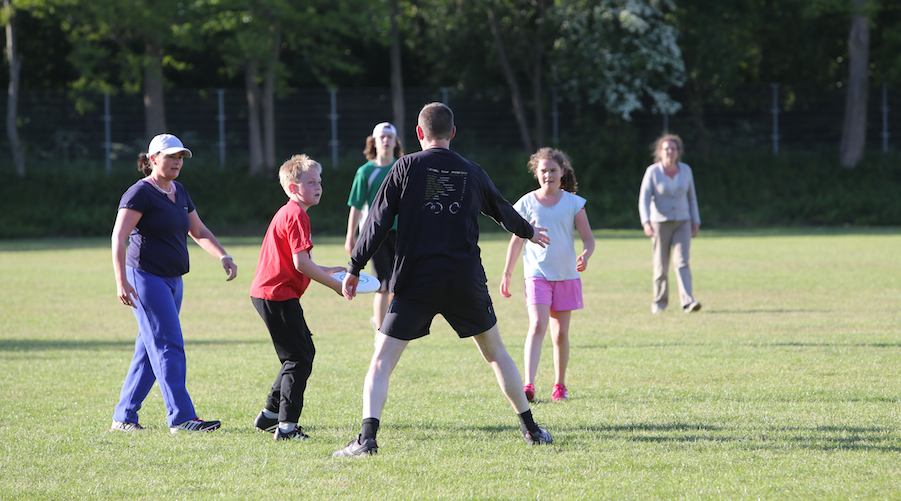 Gratis training Ultimate Frisbee Disc Devils Twente