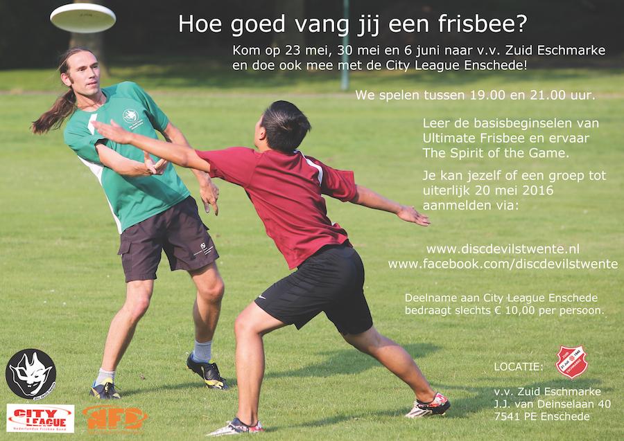 City League Enschede Disc Devils Twente Ultimate Frisbee