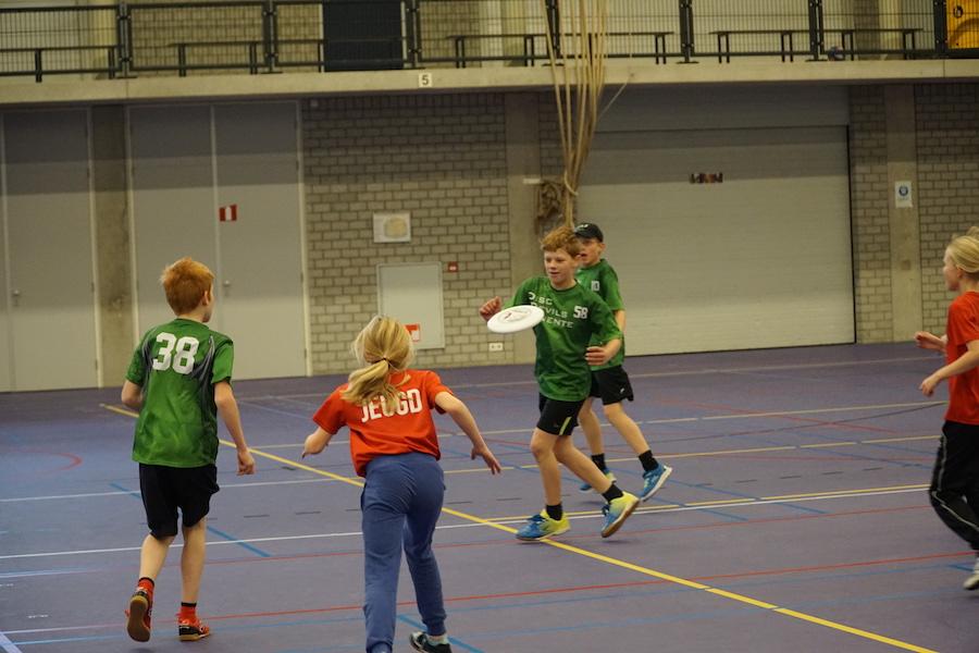 Jeugdcompetitie Ultimate Frisbee Enschede 13 november 2016 Disc Devils Twente