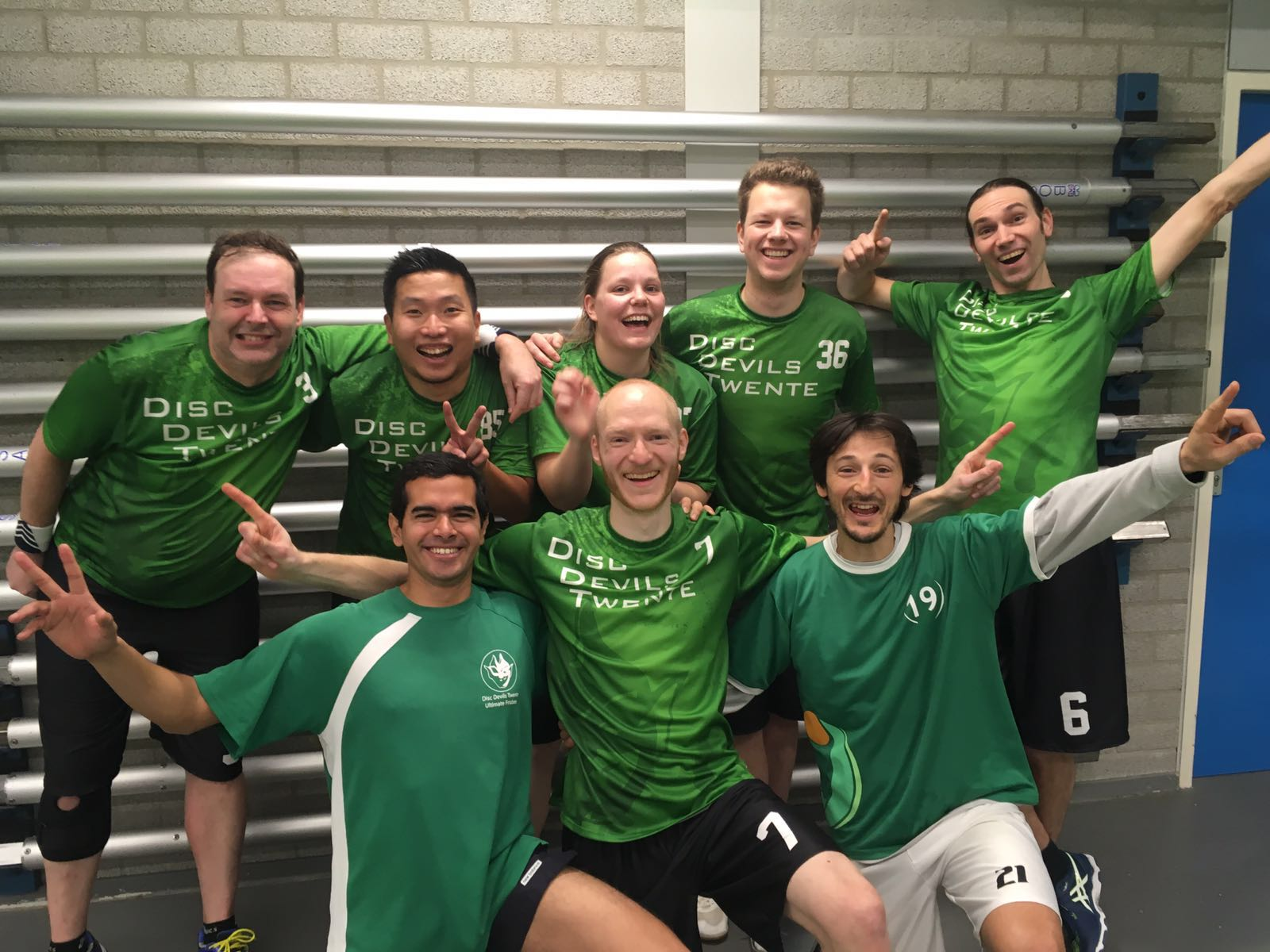 Nederlands Indoor Competitie 2016 2017 Ultimate Frisbee Disc Devils Twente