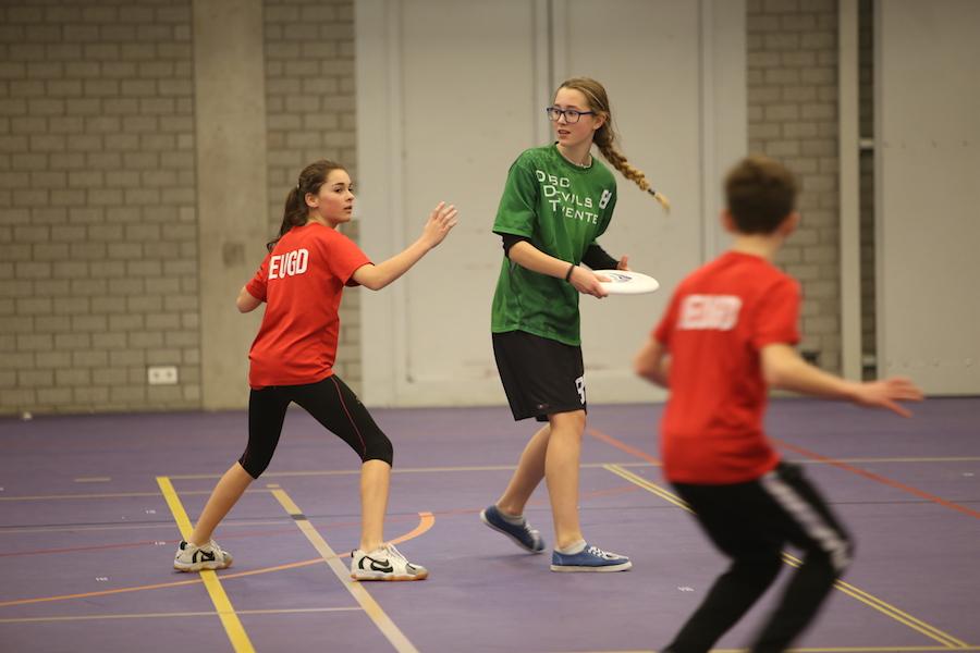Indoor Jeugdcompetitie Enschede 2016 Disc Devils Twente