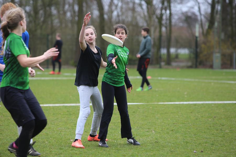 Ultimate frisbee Disc Devils Twente Enschede Jeugdcompetitie Veenendaal 2017
