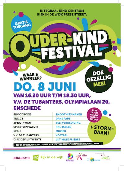 IKC Ouder-Kind Festival Enschede frisbeeclinic Disc Devils Twente