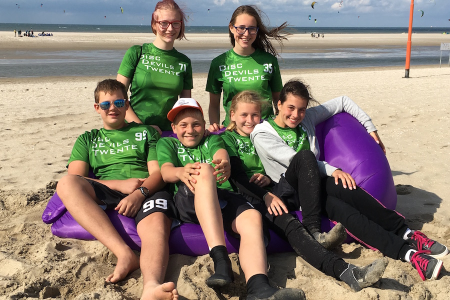 NJK Beach Kijkduin 2017 Disc Devils Twente Ultimate Frisbee Enschede