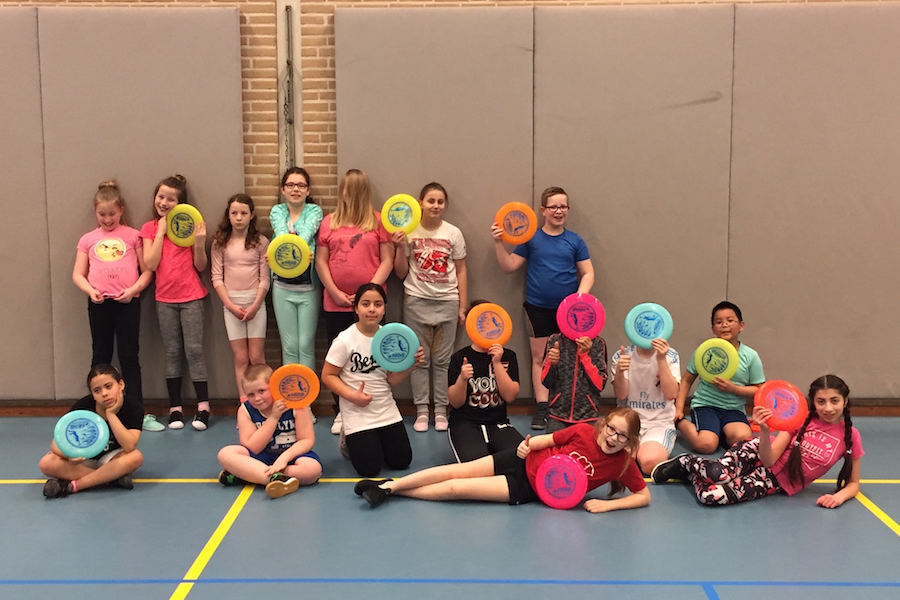 Ultimate Frisbee Clinic Enschede OBS Willem Wilmink Disc Devils Twente