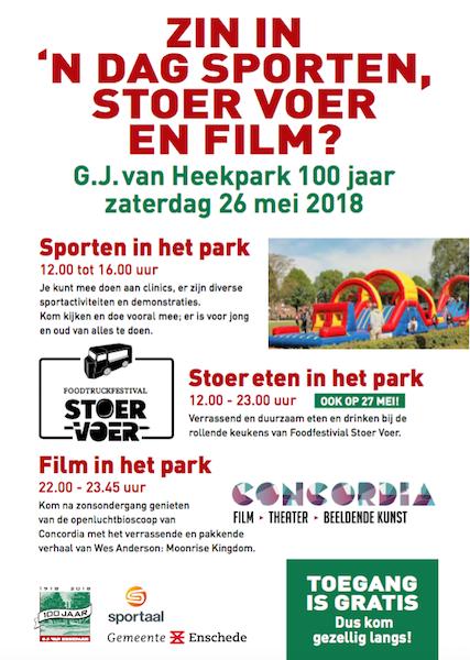 !00 Jaar G.J. van Heekpark Enschede Disc Devils Twente