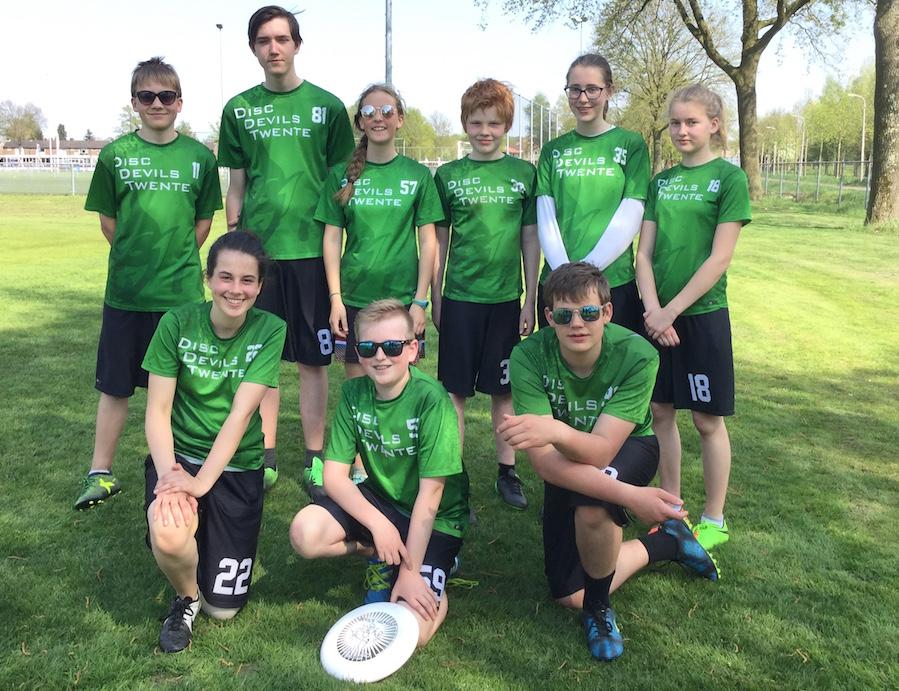 Disc Devils Twente Ultimate Frisbee Enschede Jeugd U17