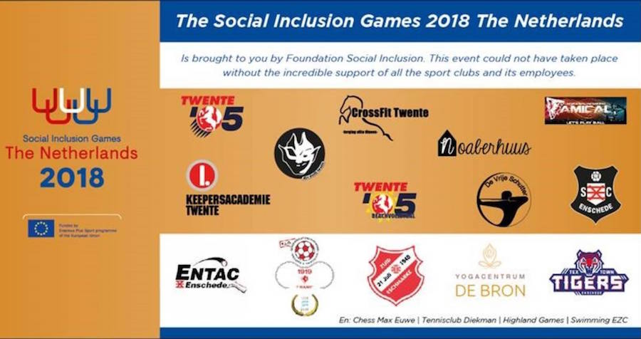 Social Inclusion Games 2018 - Disc Devils Twente Ultimate Frisbee