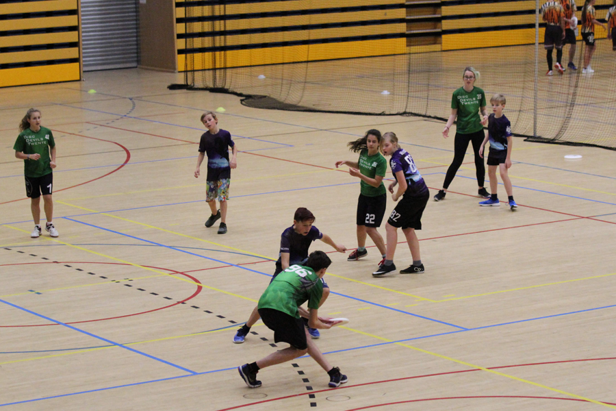 Indoor Jeugdcompetitie U17 Ultimate Frisbee Disc Devils Twente CSI Kamen