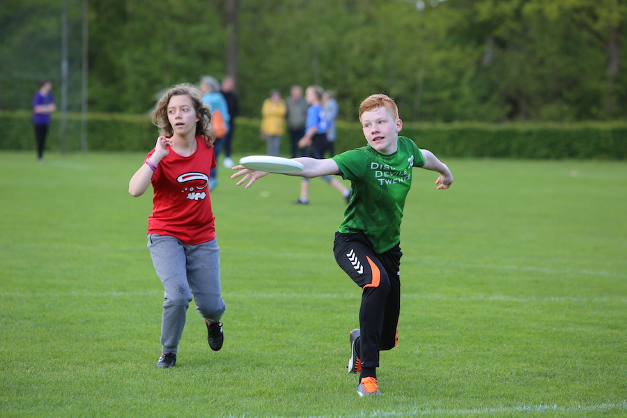 Outdoor Jeugdcompetitie Ultimate Frisbee Disc Devils Twente